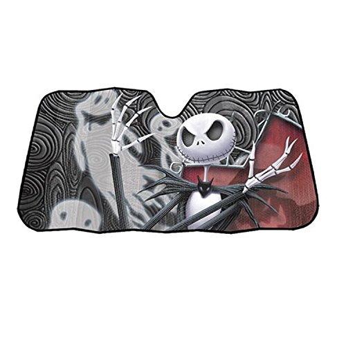 - Infinity Stock Nightmare Before Christmas Auto Sun Shade Universal Size Fit 58