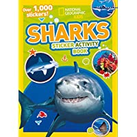 Sharks Sticker Activity Book: Over 1,000 Stickers!