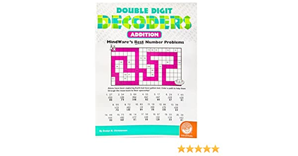 Double Digit Decoders: Addition: 0736970682150: Amazon.com: Books