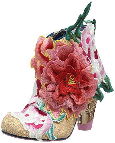 Choice Irregular Bottines Rows Rose Femme Garden vzw4gxzpq