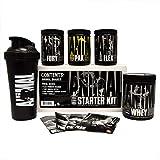 Animal Starter Kit: Trial Size Kit of Animal Pak, Animal Flex, Animal Whey & Animal Fury Plus a Free Animal Shaker