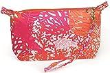 Top It Off Hampton Wristlet, Pink and Orange Coral Reef