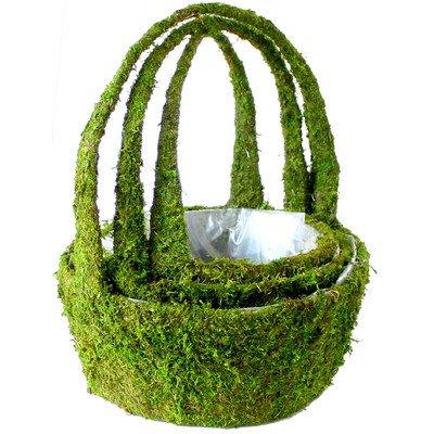 Arroyo Round Basket Planter (Set of 3) [Set of 6]