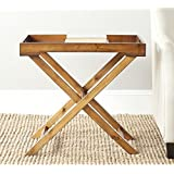 Safavieh American Homes Collection Leo Filbert Brown Accent Table