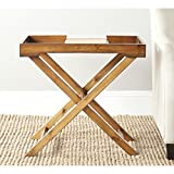 Safavieh American Homes Collection Leo Filbert Brown Accent Table Review