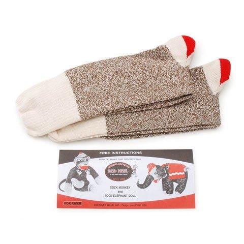 Better Crafts RED HEEL 2LRG SOCK MONKEY 2PAIR (1 pack) -