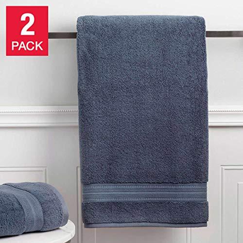 Charisma Bath Towel Blue Shadow 30 in x 58 in