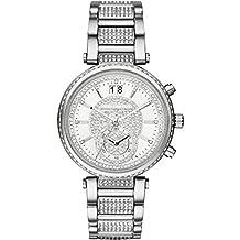 Michael Kors Women's MK6281 Sawyer Silver-Tone Stainless Glitz Watch