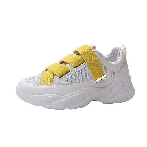 Zapatos Deportivos de Mujer, SUNNSEAN, Zapatillas Respirable Mocasines Deportes Casual Sandalias Antideslizantes Fitness Correr Calzado Deportivo Zapatilla ...