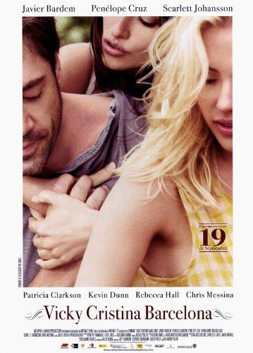 Vicky Cristina Barcelona Movie Javier Bardem Penelope Cruz Scarlett Johansson Poster Print