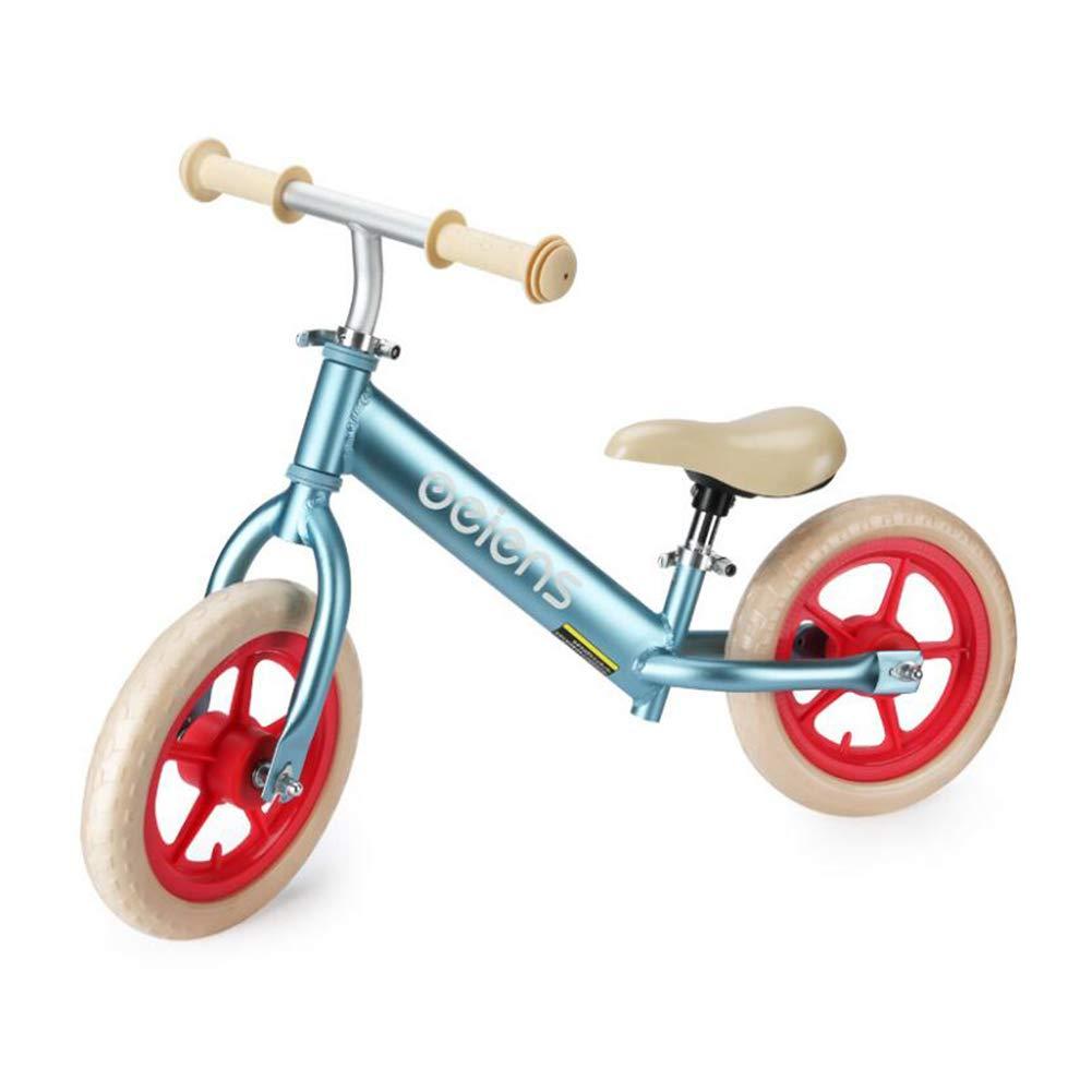 バランスバイク子供子供ランニング自転車アルミ合金ノーペダルダブルホイールウォーキング自転車 2~6 才   B07P9N69DR