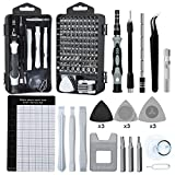 Precision Screwdriver Set, Lifegoo 122pcs Magnetic Repair Tool Kit for iPhone Series/Mac/iPad/Tablet/Laptop/Xbox Series/PS3/PS4/Nintendo Switch/Eyeglasses/Watch/Cellphone/PC/Camera/Electronic