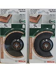 2 stycken BOSCH OIS Segment sågblad 85 mm ACZ 85 RT HM-RIFF 2609256952 dyksågblad för multifunktionsverktyg