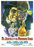 Dr. Jekyll y el Hombre Lobo - 11 x 17 Movie Poster