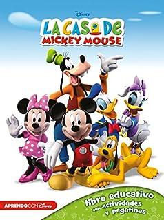 La Casa De Mickey Mouse 123 Libros de colorear y actividades