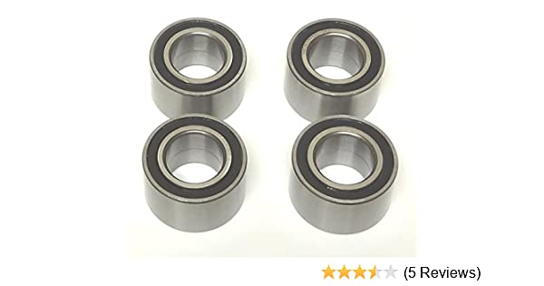 Rear Wheel Bearings Yamaha Grizzly Front 2 YFM550 YFM660 YFM700 2003-2017