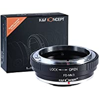 K&F Concept Lens Mount Adapter ring for Canon FD Lens to Micro 4/3 Olympus PEN and Panasonic Lumix Cameras