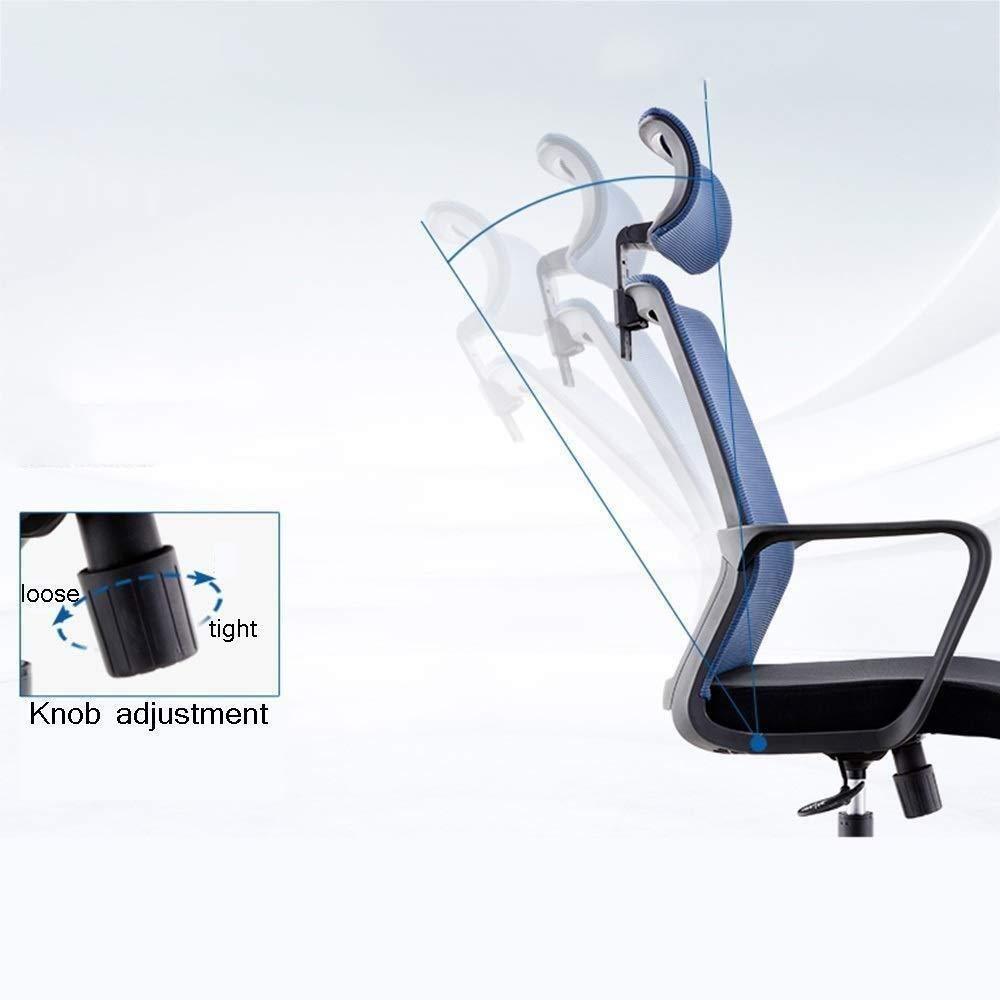 Barstolar Xiuyun kontorsstol spelstol, ergonomisk koncernstol hem skrivbord datorstol med lyft nackstöd höjd justerbar svängstol (färg: Stil2) stil2