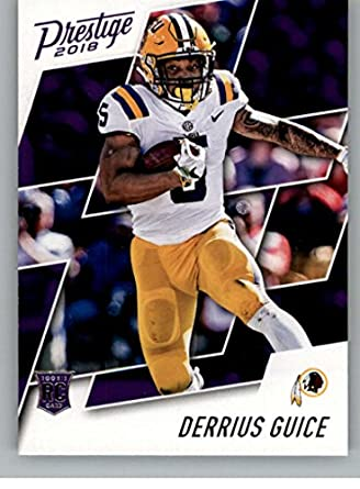Amazon.com  2018 Prestige  231 Derrius Guice Redskins  Collectibles ... 9c9bc80ff
