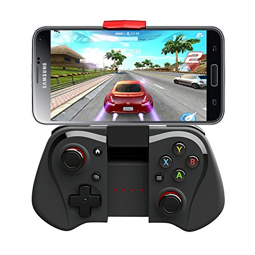Price comparison product image Wireless Gamepad,  Megadream® Bluetooth 3.0 Joystick Controller For Android Samsung Galaxy S7 S6 Edge S5 Note 6 5 HTC One Sony Xperia Tablet Smartphone & Android Mini PC TV BOX Support Windows XP 8 7