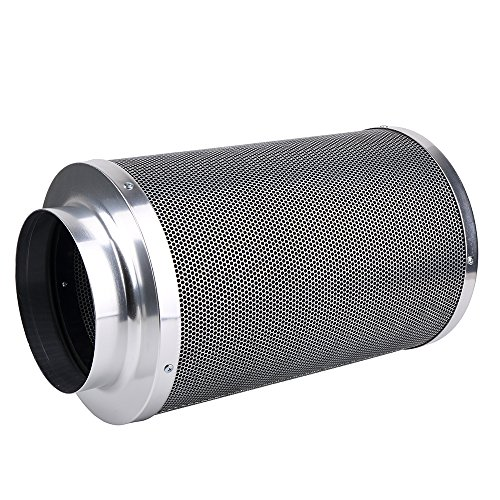 Growtent Garden 8-inch Carbon Air Filter Odor Control 1050+IAV Activated Australia Virgin Charcoal with Free Pre-filter for Inline Fan and Air Ducting ...  sc 1 st  HeatPumpsReview.com & Growtent Garden 8-inch Carbon Air Filter Odor Control 1050+IAV ...