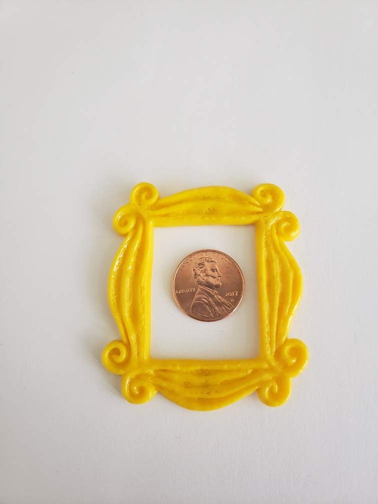 Friends Frame Magnet Handmade Monica Peephole TV Show