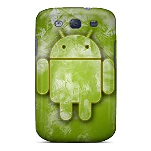 Premium Android All In Green Back Cover Snap On Case For Galaxy S3