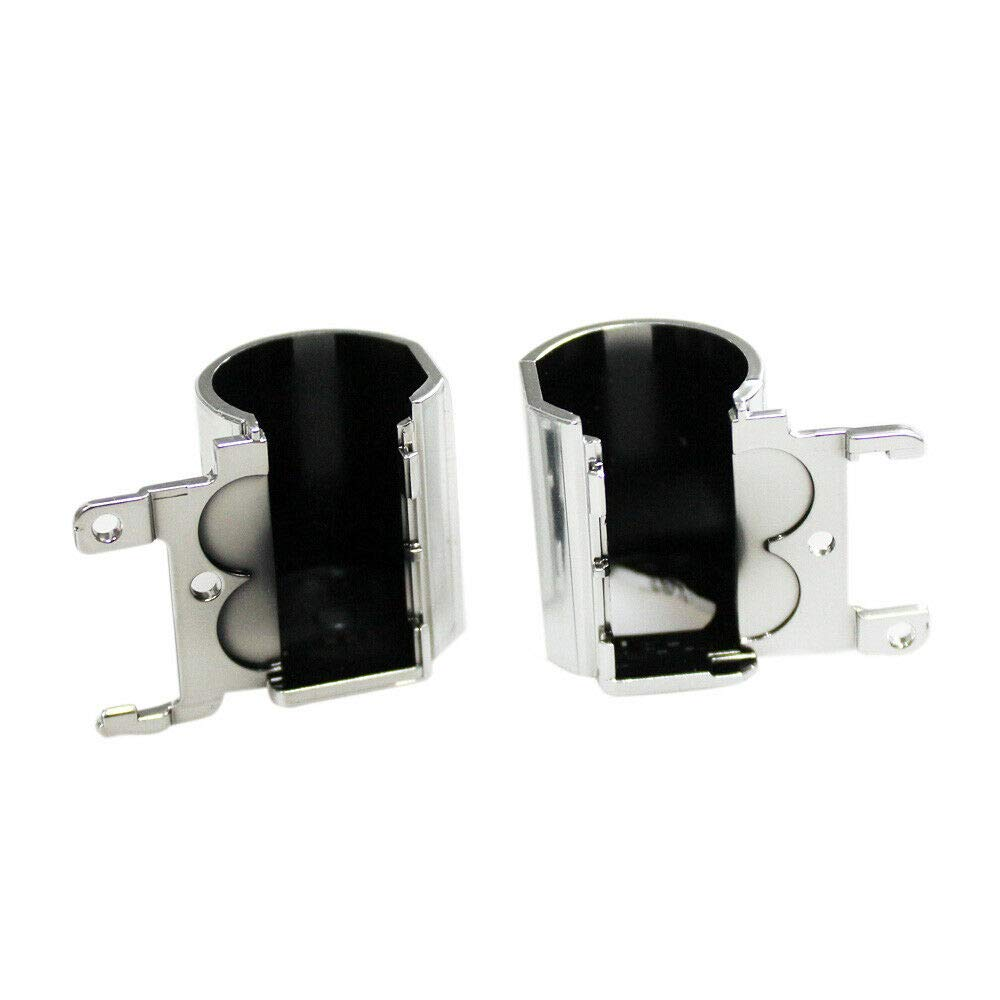 Gintai LCD Screen Hinges Set With Cover Replacement for HP 15-BS 15T-BS 15-BW 15Z-BW 250 G6 255 G6