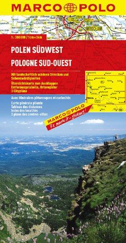 MARCO POLO Karte Polen Südwest (MARCO POLO Karten 1:300.000)