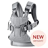 BABYBJÖRN New Baby Carrier One Air 2019 Edition, Mesh, Silver
