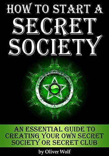 Creating a secret society