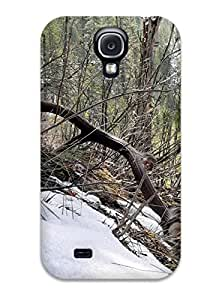 Premium Antler Back Cover Snap On Case For Galaxy S4