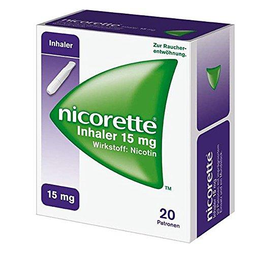 Nicorette Inhaler 15mg, 20 St