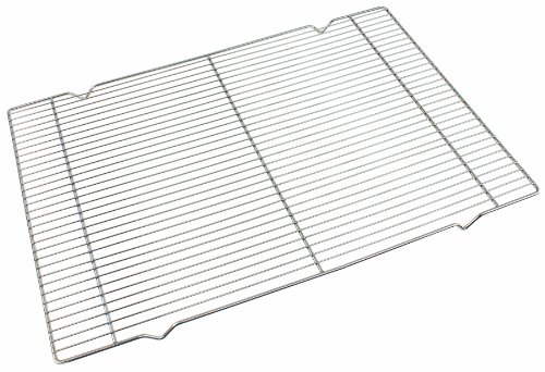 Crestware 17 by 25 by 1-Inch Wire Icing Grate, 17 by 25 by - Icing Wire Grate