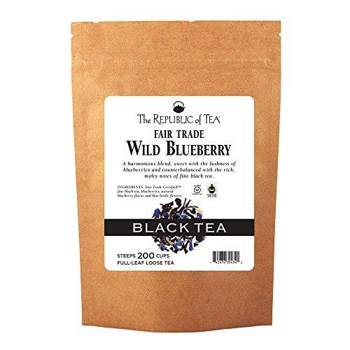The Republic Of Tea Wild Blueberry Black Full-Leaf Tea, 1 Pound / 200 - Tea Blueberry Black Wild