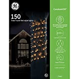 GE ConstantON 150 Clear Tree Trunk Net Lights