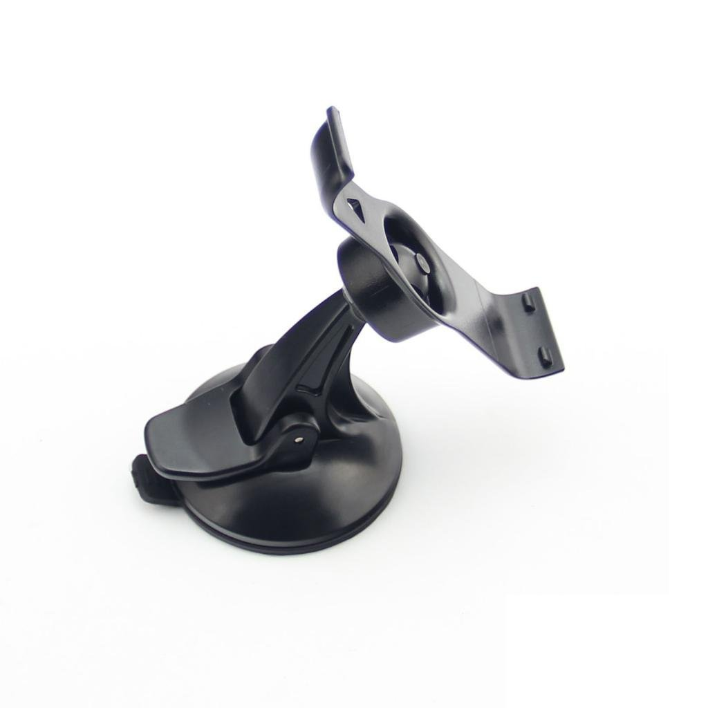 EKIND Car Windscreen Windshield Suction Cup Mount Holder Cradle Compatible for GPS Garmin Nuvi 25xx Series 2500 2505 2515 2545 2515LT 2545LMT 2555LMT 2555LT 2585TV 2595 2595LMT Black YK1-M01-QG02
