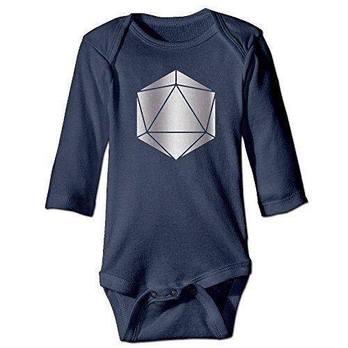 (YDSDVS Odesza in Return Logo Platinum Style Navy Baby Long Jumpsuit)