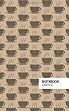 #9: Coffee Notebook: (Latte Edition) Fun notebook 96 ruled/lined pages (5x8 inches / 12.7x20.3cm / Junior Legal Pad / Nearly A5)