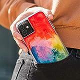 Case-Mate - iPhone 11 Pro Case - Tough Watercolor - Real Ink Swirl - 5.8 - Rainbow Splash