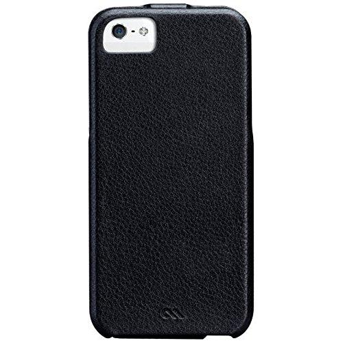 Case Mate CM022808  Signature Flip Case für Apple iPhone 5 schwarz