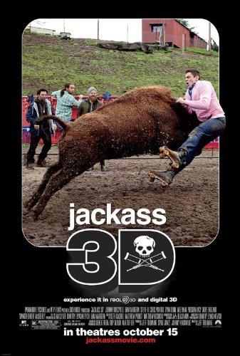 - Jackass 3-D Movie Poster (27 x 40 Inches - 69cm x 102cm) (2010) -(Johnny Knoxville)(Bam Margera)(Ryan Dunn)(Steve-O)(Jason 'Wee Man' Acuña)(Preston Lacy)