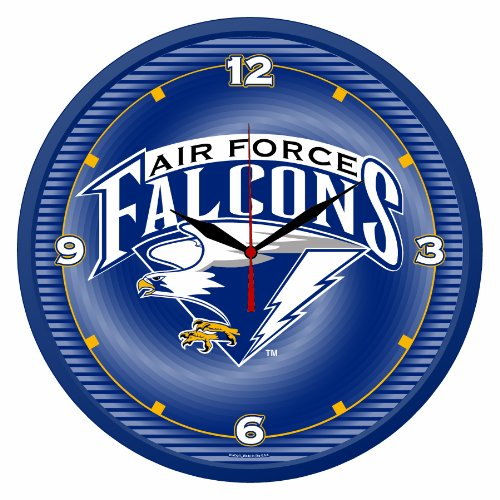 NCAA Air Force Falcons Round - Sports Wall Clock