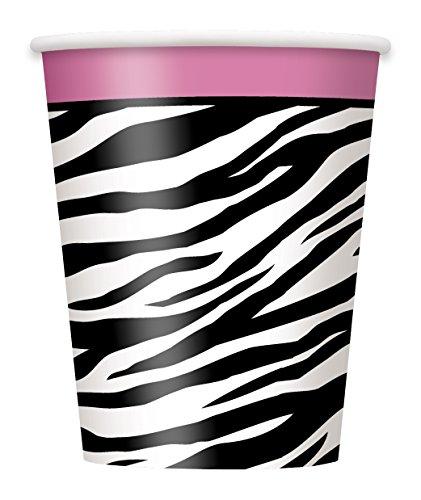 9oz Zebra Print Party Cups
