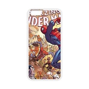 iPhone 6 Plus 5.5 Inch Cell Phone Case White an03 amazing spiderman comics game film illust art hero SUX_003823