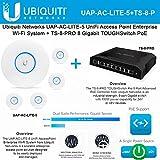 Ubiquiti UAP-AC-LITE-5 5PACK UniFi AcessPoint PoE + TS-8-PRO Switch 150W Power