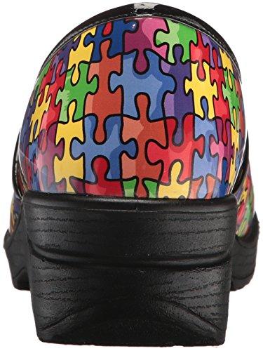 Mul Works para de Lyndee Zapatillas Puzzl Easy Mujer Brt Profesionales Salud qzwC5Ad