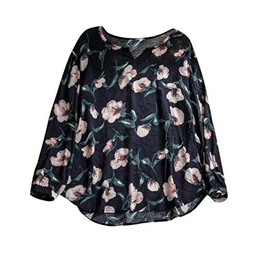 Con A Largo V Donna Blu Donna Donna Ampia Scollo Collo vestiti camicetta Styledresser Da Felpe fYwCqz4w