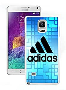 Unique And Luxurious Designed For Samsung Galaxy Note 4 N910A N910T N910P N910V N910R4 Cover Case With Adidas 15 White Phone Case