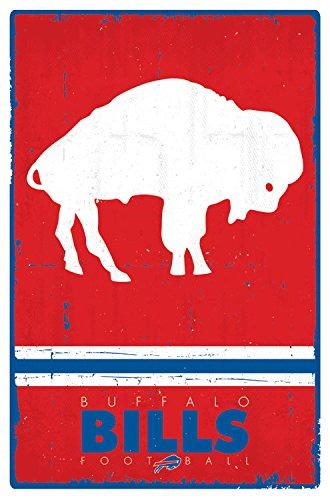 Trends International Buffalo Bills Retro Logo 22.375